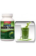 Spirulina ,Chlorella, Alfalfa, Orz-Griu verde – 180 buc