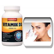 Vitamina D3 2000 IU - 100 capsule